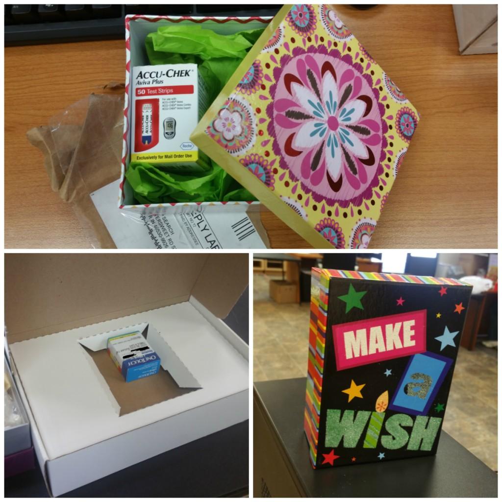 Creative Box For Diabetic Test Strips